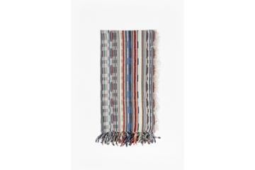 French Connection Multi Staggered Stripe Scarf