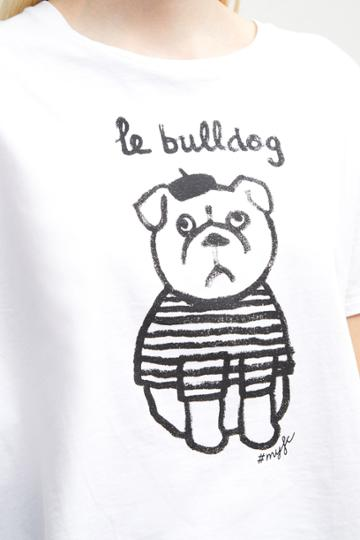 French Connection Le Bulldog T-shirt