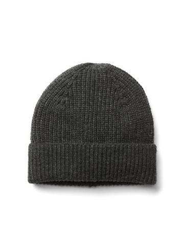 Gap Men Merino Wool Beanie - Charcoal