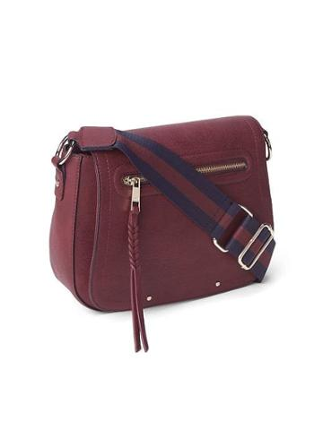 Gap Women Crossbody Purse - Wine Red
