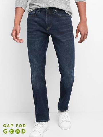 Gap Men Slim Fit Jeans Stretch - Bright Blue