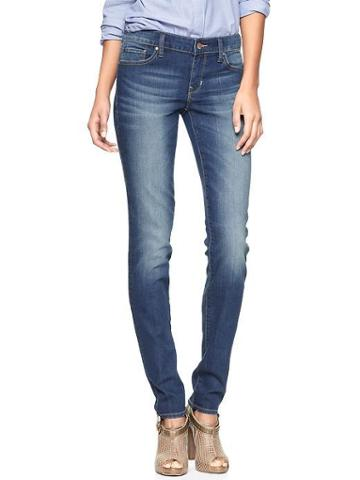 Gap 1969 Always Skinny Jeans - Medium Wash