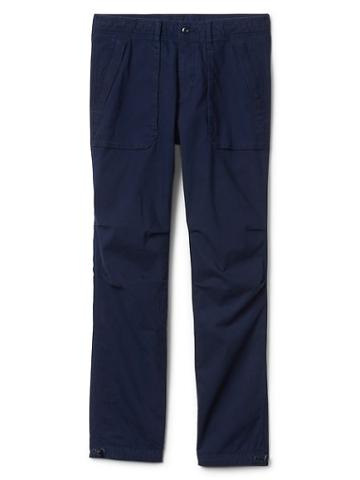 Gap Men Canvas Utility Pants - Navy