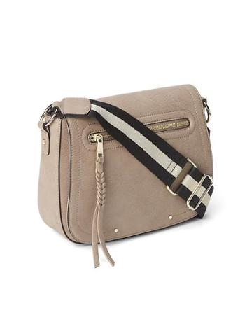 Gap Women Crossbody Purse - Beige