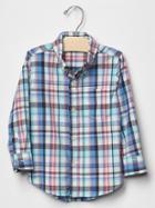 Gap Plaid Shirt - Splash
