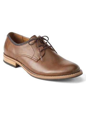 Gap Men Lace Up Dress Shoes - Brown