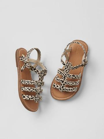 Gap Gladiator Sandals - Leopard
