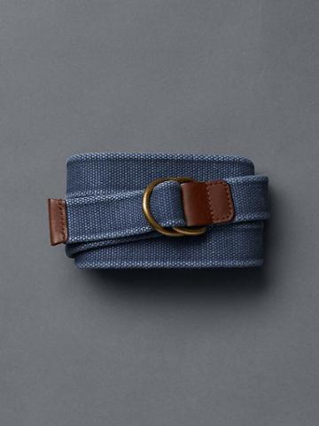 Gap Fabric Belt - Navy