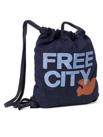 Gap Women Free City X Gap Drawstring Bag - Dark Night