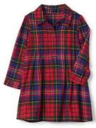 Gap Plaid Flannel Shirtdress - Plaid