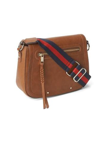 Gap Women Crossbody Purse - Cognac Brown