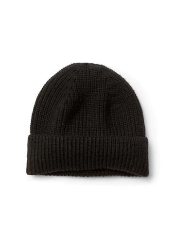 Gap Men Merino Wool Beanie - True Black