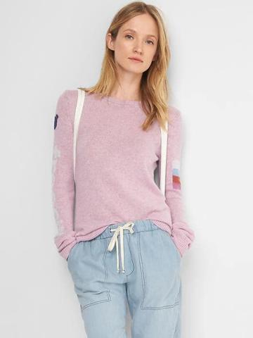 Gap Women Free City X Gap Pullover Sweatshirt - Heather Lavender