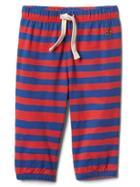 Gap Stripe Jersey Pants - Navy Red Stripe