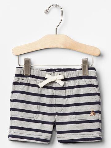 Gap Stripe Shorts - Gray