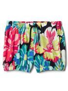 Gap Jersey Bubble Shorts - Big Floral
