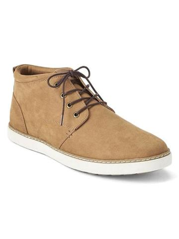Gap Men Lace Up Casual Shoes - Tan Brown