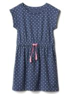 Gap Polka Dot Jersey Dress - Polkadot