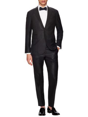 Michael Bastian Gray Label Wool Solid Peak Lapel Tuxedo