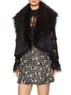 Anna Sui Faux Fur Vest