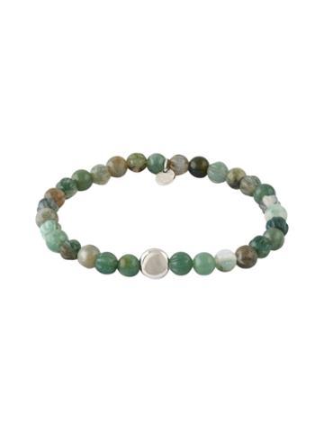 Tateossian Agate Bead Bracelet
