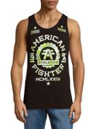 American Fighter Cotton Roundneck Tank Top