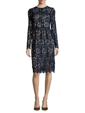 Alexia Admor Lace Knee Length Dress