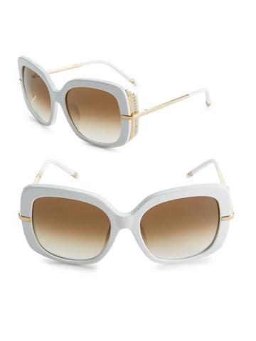 Boucheron 54mm Square Sunglasses