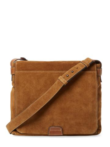 Frye Chris Suede Messenger Bag