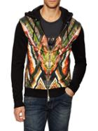 Balmain Printed Hooded Sweater