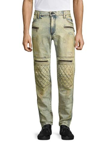 Robin Inchess Jean Skinny-fit Distressed Jeans