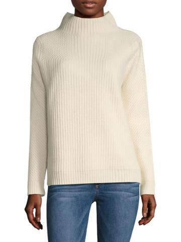 Diane Von Furstenberg Jayleen Ribbed Sweater