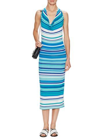 Rachel Pally Cecil Printed Jersey Halter Dress