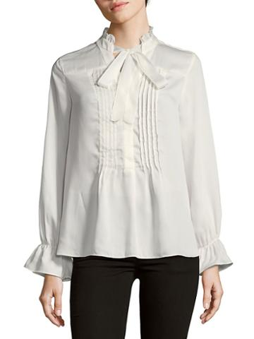 Nanette Lepore Pleated Detail Blouse