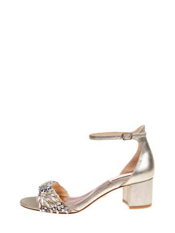 Badgley Mischka Tahlia Studded Wedge