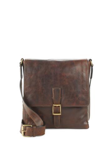 Frye Logan Small Leather Messenger Bag