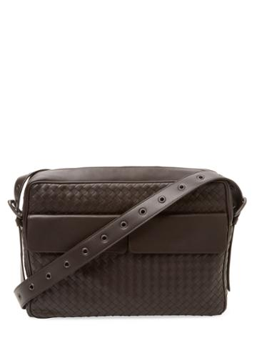 Bottega Veneta Leather Messenger Bag