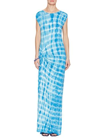 Young Fabulous & Broke Bryton Ocean Ripples Maxi Dress