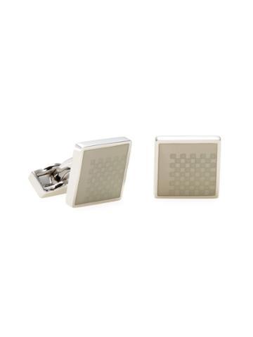 Canali Square Checkered Cufflinks