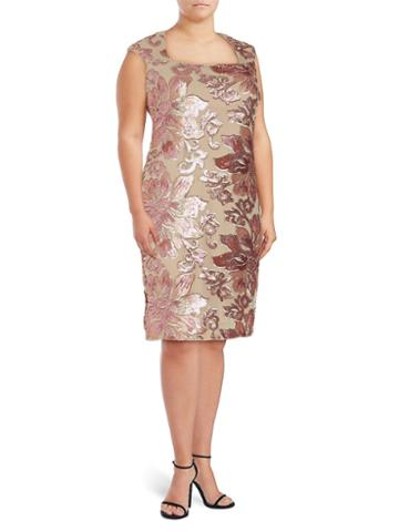 Isaac Mizrahi Sequin Embellished Dress