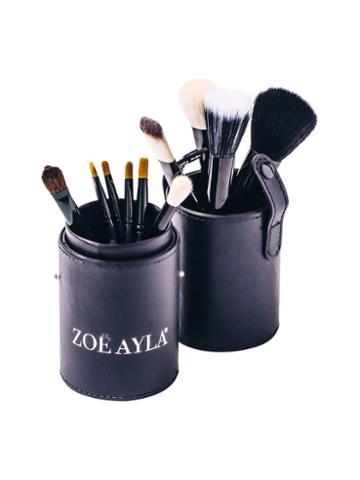 Zoe Ayla Professional Make-up Brush Set - Black (12 Pc)