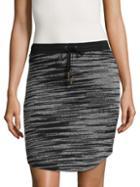 Three Dots Rose Cotton Skirt