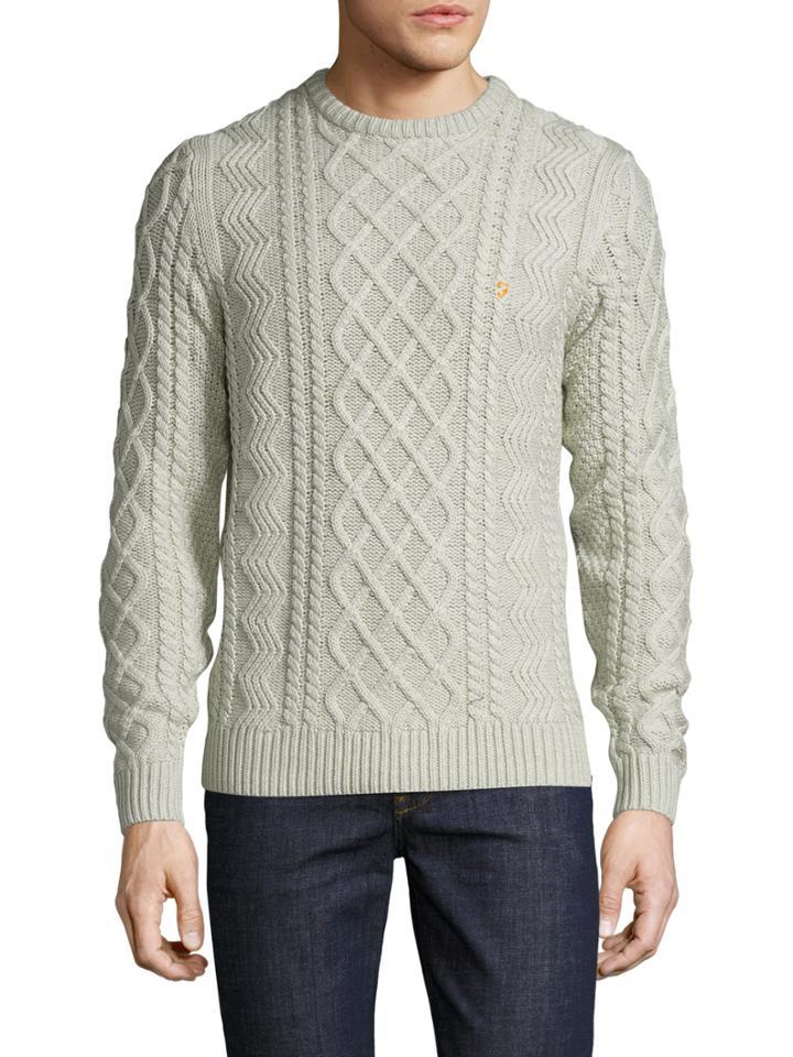 Farah Kelshall Cableknit Sweater