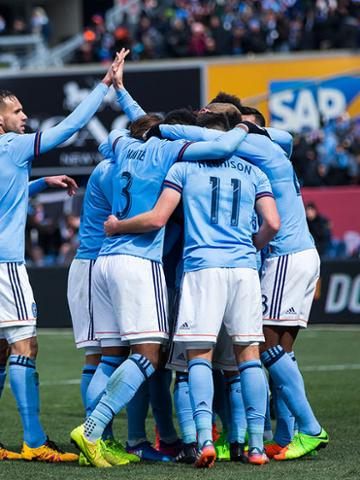 Mastercard Sourced Offers Watch New York City Fc From The Etihad First Class Club - August - 1 Package For 2 Guests
