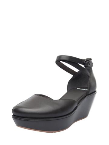 Camper Damas Ankle-wrap Leather Wedge