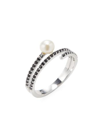 Alex Mika Tansy Pave Ring
