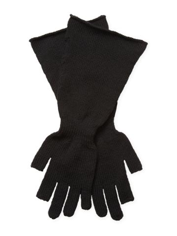 Rick Owens Rolled Wool Gloves