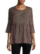 Bcbgeneration Printed Knit Top