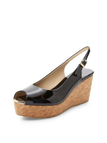 Jimmy Choo Praise Patent Leather Wedge