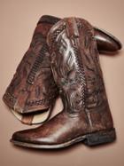 Frye Wyatt Overlay Boot
